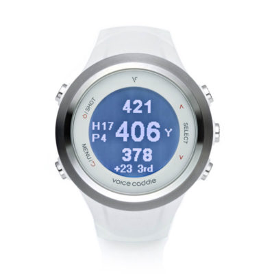 T2 Hybrid Golf GPS Watch White