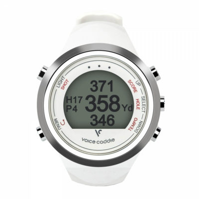 t1 golf watch in white